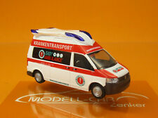 Rietze 53628 Ambulanz Mobile Hornis Blue Easy Ambulance Scale 1 87