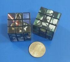 Star Wars Miniature Puzzle Cube - 1 1/8 Inch - Set of 2 - Puzzle Cubes 3X3X3