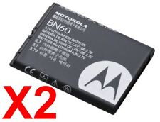Lot Of 2 Oem Motorola Bn60 Battery Hint Qa30 Blaze Qa1 Qa45 Zn4 Vu30 Zn4 Vu30