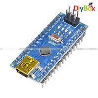 5PCS Nano V3.0 CH340G ATmega328P 5V 16M USB Micro-Controller Board For Arduino