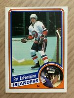 NHL PAT LAFONTAINE Islanders 1984-1985 O-Pee-Chee RC ROOKIE Trading CARD #129