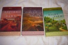 Lot of 3 Books, Home to Heather Creek Before Dawn Circle of Grace On Right Path