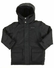 Nautica Toddler Boys Water Resistant Ballistic Snorkle Jacket Black Size 4T Coat