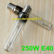2Pcs 220V 250W watt HPS Grow Light Bulb Flowering High Pressure Sodium Lamp