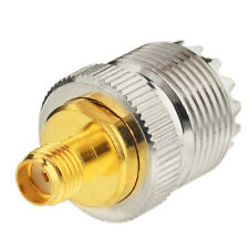 10pcs SMA-F to UHF Jack SO-239 Adapter for PX-777 PX-888 KG-UVD1P TG-UV2 FD-150A