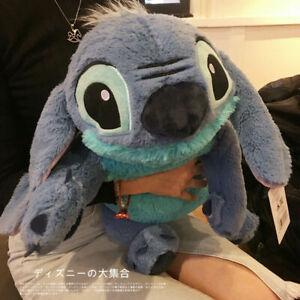 New Large Disney Lilo and Stitch Stitch Stuffed Plush Toy 55cm Pillow Cushion