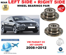 FOR VW PASSAT CC REAR WHEEL BEARINGS PAIR 2008->2012 357 COUPE LEFT and RIGHT