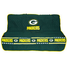 Green Bay Packers NFL Pets First Dog Pet Suede Car Seat Cover