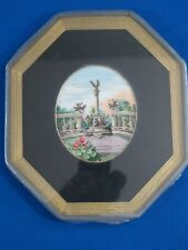 Rare Vintage Hungarian Hand Made and Embroidered Wall Hanging Decoration Gobelin