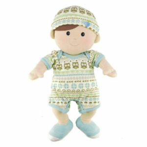 Organic BOY Toddler Doll - 100% Organic Cotton, Removeable Clothes - Apple Park