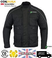 New Motorbike Textile Jacket Trouser Biker Suit CE Armoured Waterproof
