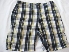 WOMENS JONES NEW YORK SPORT PLAID SHORTS, 10P