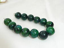 Hand Made Ladies Jewellery Green Natural Stones Beads Bracelet - 7 inches