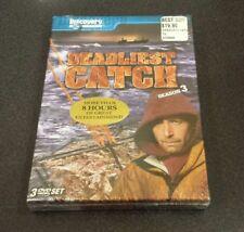 Deadliest Catch: Season Three (DVD, 3-Disc Printing) reality tv show series NEW