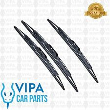 Ford Capri MK 3 Coupe JAN 1980 to DEC 1987 Windscreen Wiper Blades Set
