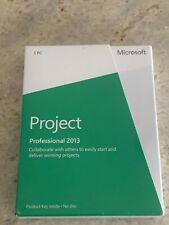 ✅ Microsoft Project 2013 Professional  32/64 BIT Retail Box H30-03673 👍💯🥳