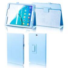 Para Samsung Galaxy Tab S4 10.5 T830 T835 Azul Claro Piel Artificial