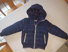 H&m Winterjacke Jungen Gr 122 Blau