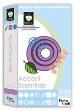 NEW! Cricut Accent Essentials cartridge!!  Retired/ Rare/ HTF.   Free shipping!!