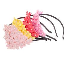 moda perla grande fiore Corona Fascia per capelli fascette da donna festa regalo