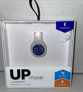 📀 UP Move Wireless Clip-On Activity, Fitness + Sleep Tracker by Jawbone, White