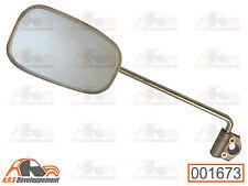 RETROVISEUR GAUCHE (LEFT MIRROR) gris métalisé Citroen ACADIANE & 2CV AK  -1673-
