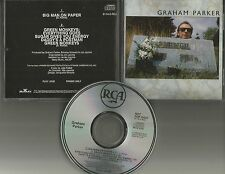 GRAHAM PARKER Big man on w/ RARE 8 MINUTE MEGAMIX 1989 USA PROMO DJ CD Single