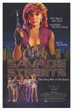 SAVAGE STREETS Movie POSTER 11x17 Linda Blair John Vernon Sal Landi Robert Dryer