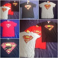 Super Man Superman Ladies Adult Mens Womens Tee TShirt Official LOGO T-Shirt