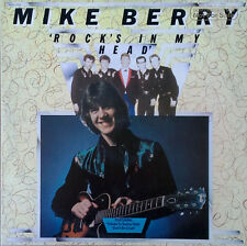 MIKE BERRY - ROCK'S IN MY HEAD - SIRE LP - (5) BUDDY HOLLY SONGS - 1976 - PROMO