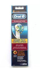 Braun ORAL B FLOSS ACTION Recambio Cepillo de dientes 4 o 8 cabezas Genuino Nuevo