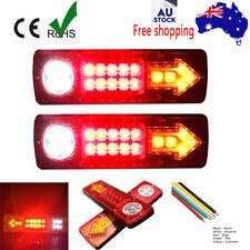 LED TAIL LIGHT TRUCK UTE TRAILER STOP INDICATOR LIGHTS 12V/24V WATERPROOF PLUS