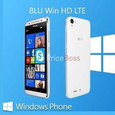 Blu Win HD LTE X150Q Unlocked Dual SIM 8MP Window Unlocked Phone White Open Box
