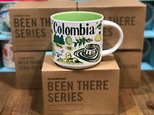 Starbucks BEEN THERE SERIES Collection BTS - COLOMBIA 14oz Mug NIB