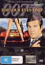 FOR YOUR EYES ONLY - NEW & SEALED 2-DISC SPECIAL ED'N DVD (ROGER MOORE) BOND 007