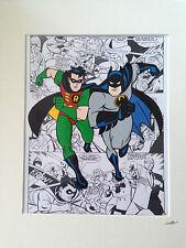 Batman Animated Series - Batman & Robin - Hand Drawn & Hand Painted Cel