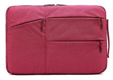 Nylon/Cloth Laptop Sleeve Case Pouch Carry Bag For Apple MacBook 12 inch Pink