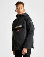 Napapijri Boys Rainforest Coat  Jacket Junior 10 yrs Black D452-20