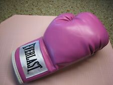Everlast Advanced Training glove- right only Boxing glove - 12 Oz- Nwob - Pink!