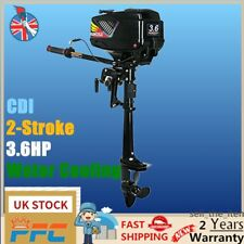 2-Strok 3.6HP Outboard Motor Engine Fishing Boat Motor Water Cooling CDI System