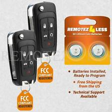 2 For 2010 2011 2012 2013 Buick Lacrosse Keyless Entry Remote Car Key Fob