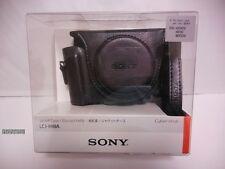 SONY LCJ-HWA BC Camera Jacket case for DSC-HX90V/WX500 Black From Japan