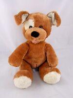 "Build a Bear Workshop Dog Plush Barks Sits 10"" Stuffed Animal"