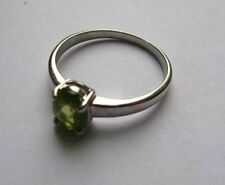 Unbranded Solitaire Natural Oval Fine Gemstone Rings