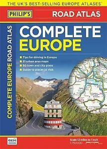 Philip's Complete Road Atlas Europe 2016 by Philip's Maps (Paperback)