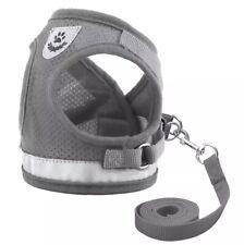 Pet Dog Cat Harness Leash Adjustable Reflective Vest Walking Lead Puppy