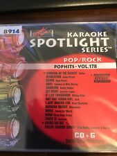 SOUND CHOICE KARAOKE CDG POP HITS 8914