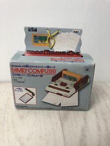 Nintendo Famicom Miniature Console Note Pad 90s Promo Boxed