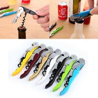 Multifunction Corkscrew Wine Bottle Opener Hippocampus Knife Carbon Steel Handle