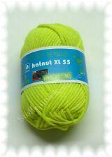 hatnut XL 55 Mützenwolle neon gelb 82